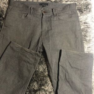 Banana republic pinstripe straight fit  pants  33